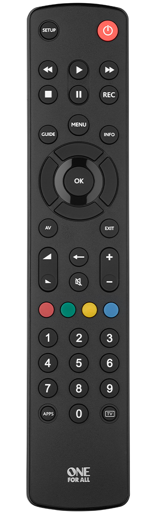 One for ALL TV Remote Control - URC1210