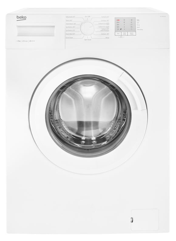 Beko - 8kg 1200rpm Freestanding Washing Machine - WTG820M1W