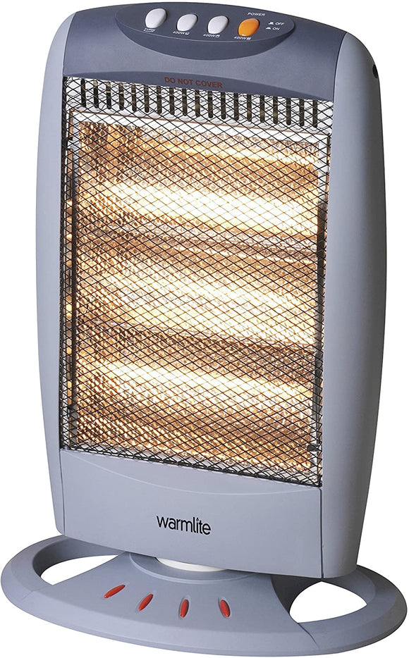 Warmlite 3 Bar Halogen Heater