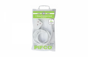 Pifco- 1 Gang 5M Extension Lead -PIF2046