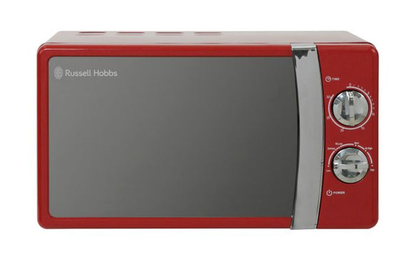 Russell Hobbs Colours 17 Litre Red Manual Microwave