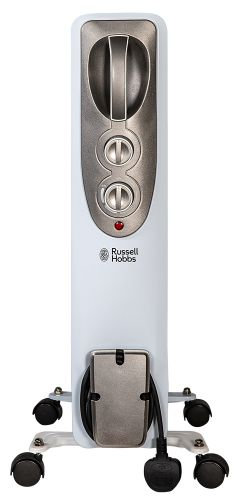 Russell Hobbs White 2KW Oil Filled Radiator