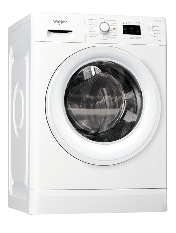 Whirlpool - Freestanding 1200RPM 7KG Washing Machine - FWL71253W UK