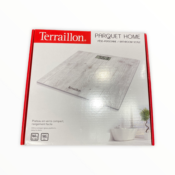 Terraillon Partquet Home Bathroom Scale