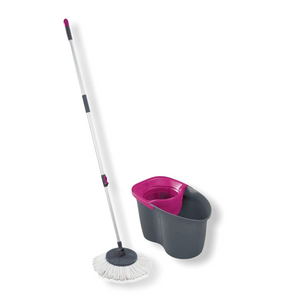 Leifheit - Limited Edition Rotation Disc Mop - Pink