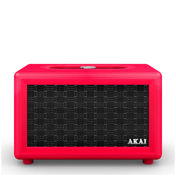 Akai Retro Bluetooth Speaker - Red