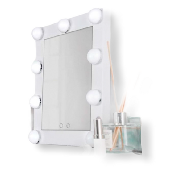 Carmen Noir LED Hollywood Mirror