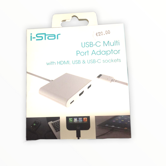 i-Star USB-C Multi Port Adaptor