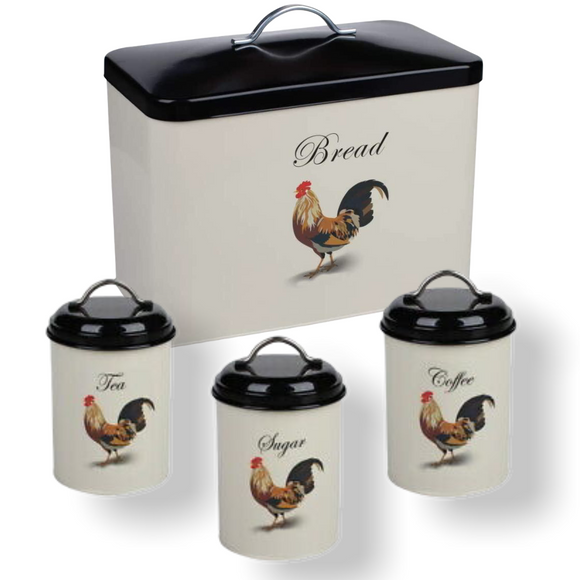 Monsoon - Cockerel Kitchen Storage Set