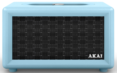 Akai Retro Bluetooth Speaker - Blue