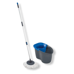 Leifheit - Limited Edition Rotation Disc Mop - Blue