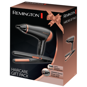 Remington Rose Gold Hair Dryer & Hair Straightener Set