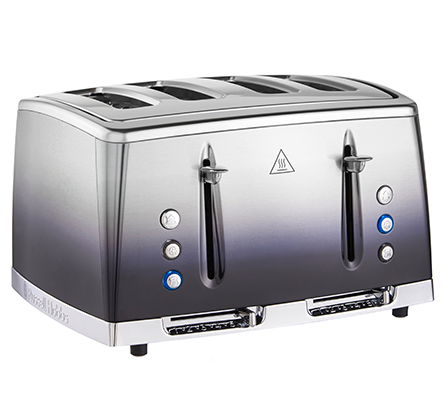 Russell Hobbs Midnight Blue Eclipse 4 Slice Toaster