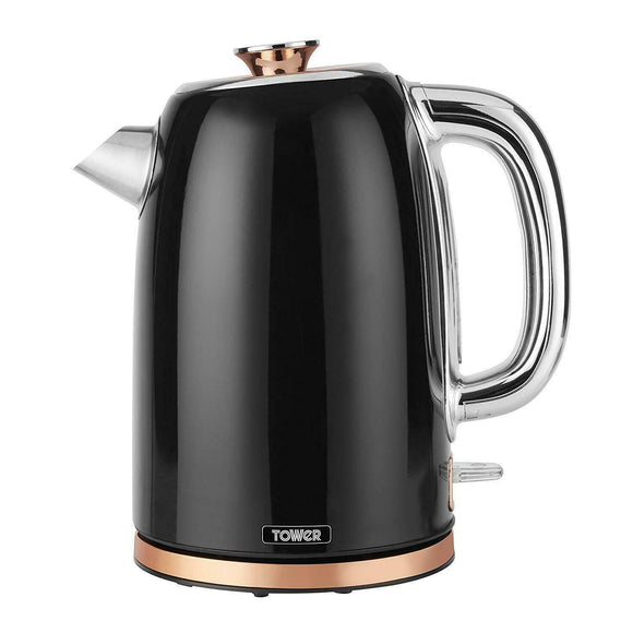 Tower Bottega Rose Gold Edition 3KW 1.7L Stainless Steel Kettle Jug Kettle