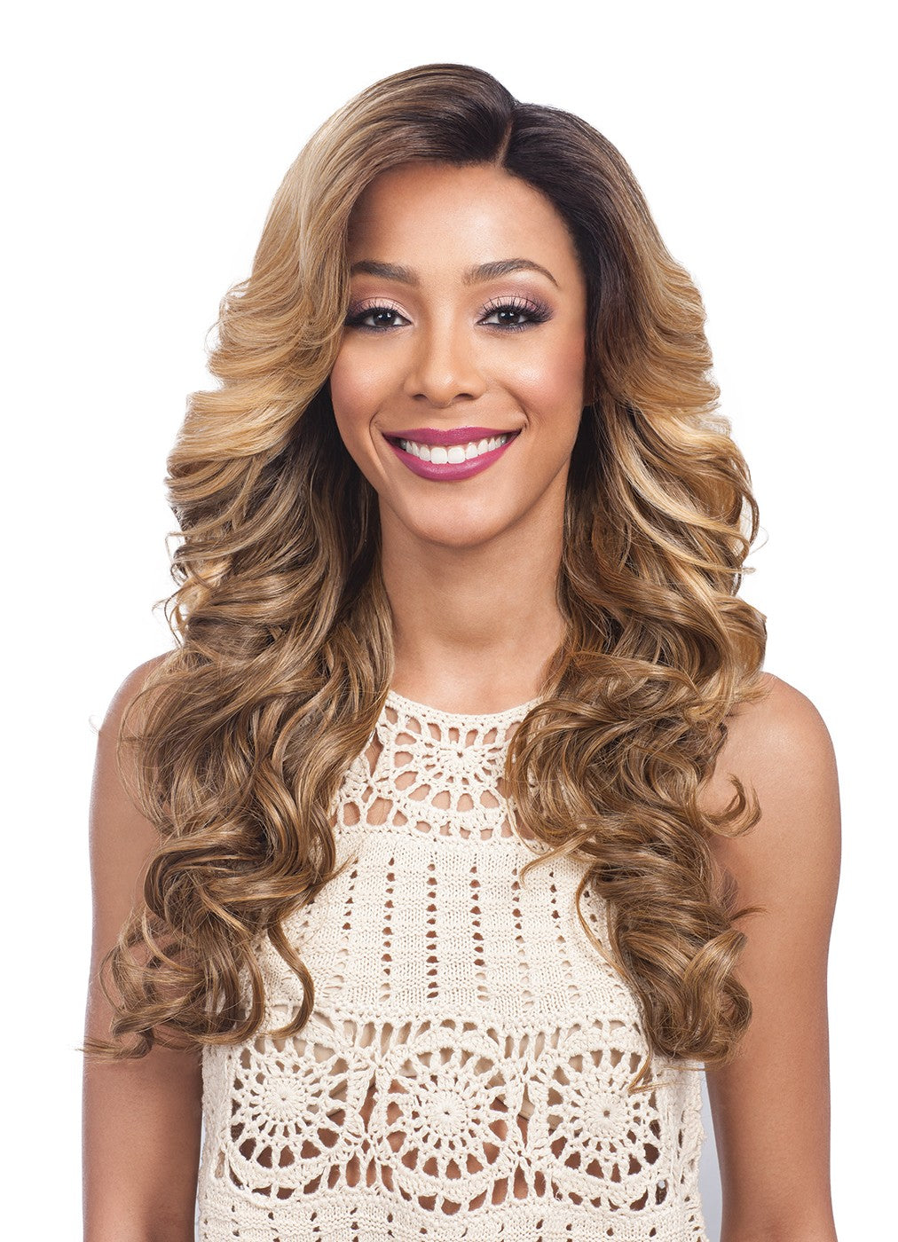 BOBBI BOSS - Perruque Swiss Lace Frontal - HAND-TIED WIG 7
