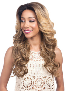 "BOBBI BOSS - Perruque Swiss Lace Frontal - HAND-TIED WIG 7"" X 4"" MLF280 MOONSTONE"