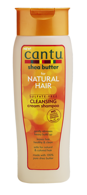 Cantu for Natural hair Sulfate free Cleansing shampoo