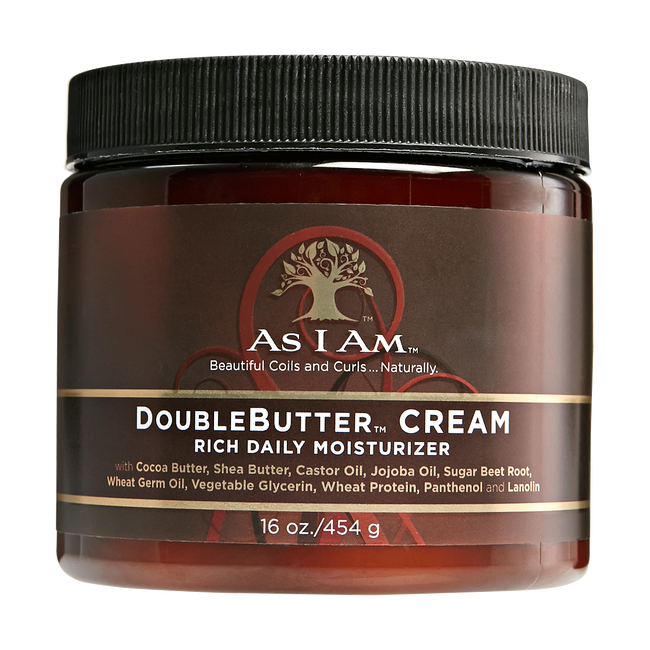 AS I AM Double butter cream. Rich daily moisturizer