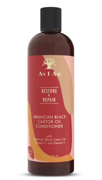 AS I AM Long and luxe. Restor and repair jamaican black castor oil shampoo
