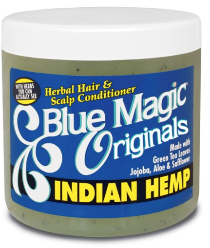 BLUE MAGIC Indian hemp hair and scalp conditioner