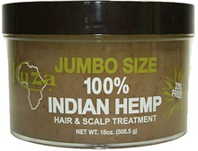 Charger l'image dans la galerie, KUZA 100% Indian hemp hair and scalp treatment