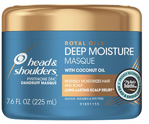 HEAD & SHOULDERS Deep Moisturizing  Masque with Coconut Oil For Dandruff