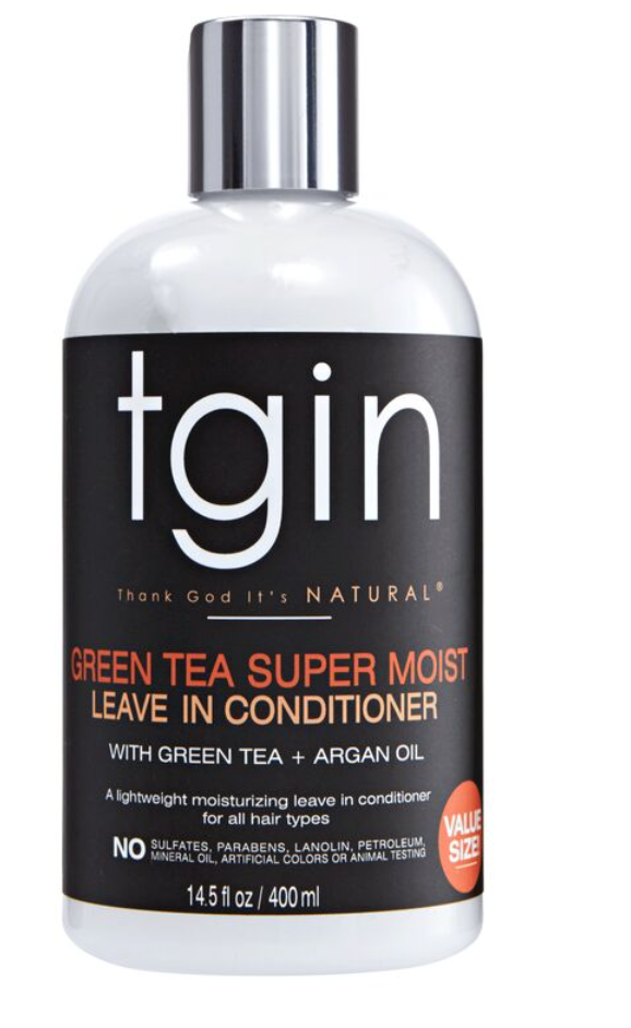 TGIN Green Tea Super Moist Leave-In Conditioner with green Tea and Argan Oil