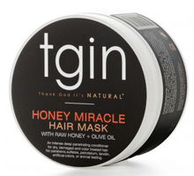 Charger l'image dans la galerie, TGIN Honey Miracle Hair Mask For Natural Hair with raw Honey and Olive Oil
