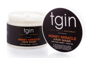 TGIN Honey Miracle Hair Mask For Natural Hair with raw Honey and Olive Oil