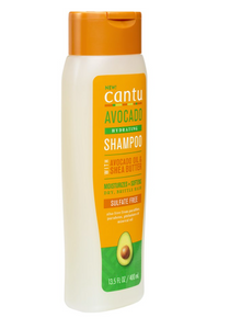 CANTU Avocado Hydrating Shampoo With Avocado Oil and Shea Butter