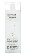 Charger l'image dans la galerie, GIOVANNI Smooth As Silk Deeper Moisture Conditioner For Damaged Hair