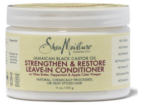 SHEA MOISTURE. Jamaican Black Castor Oil Strengthen & Restore Leave-In Conditioner