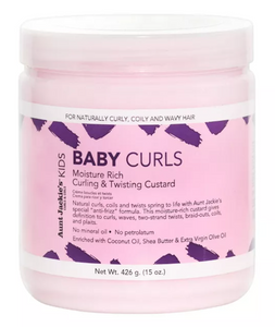 AUNT JACKIE'S Baby Curls Moisture Rich Curling & Twisting Custard