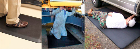 Your Poor Feet! Anti-Fatigue Mats Relieve Discomfort from Standing or Kneeling at Work
