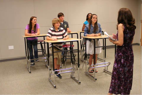 Sit-Stand Work Stations in the Classroom Increase Attention and Productivity