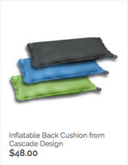 Inflatable cushion.