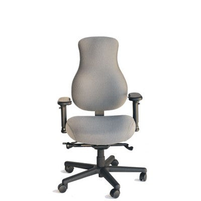SomaFit Medium Ergonomic Chair, FT-R4M (armrests not included) -Teknit Meridian #003 Smoke