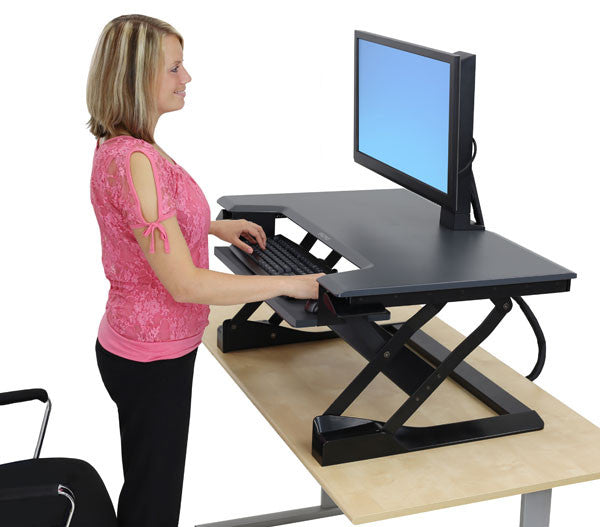 Ergotron Workfit T Sit Stand Desktop Workstation Ask