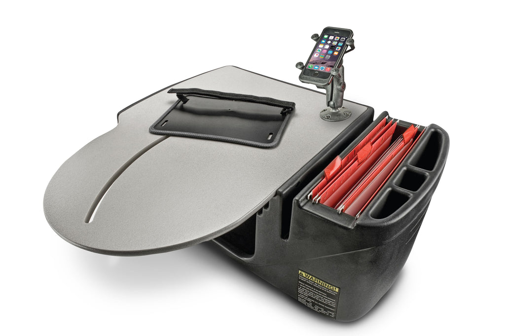 AutoExec RoadMaster Truck Desk with X-Grip Phone Mount