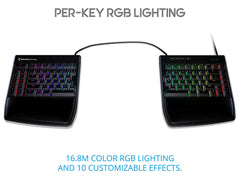 Freestyle Edge RGB Split Keyboard - FREE 2-DAY SHIPPING