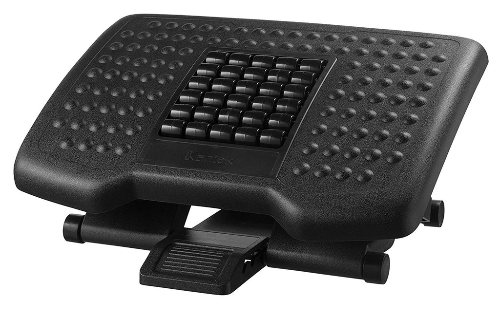 Kantek Premium Height Adjustable Footrest With Rollers