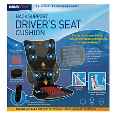 ObusForme Massaging Drivers Seat with Heat CC-BDS-01