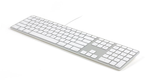 Matias Wired Aluminum Keyboard for MAC Silver, FK318S