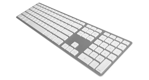 Matias Wireless Aluminum Keyboard Silver FK418BTS