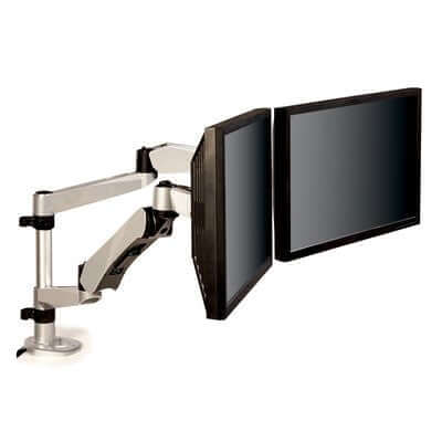 3M Easy-Adjust Dual Monitor Arm, MA265S