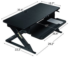 3M Precision Standing Desk SD60B