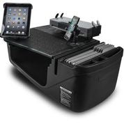 AutoExec Efficiency GripMaster with X-Grip Phone Mount, Tablet Mount and Printer Stand