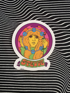 Groovy Stevie Sticker