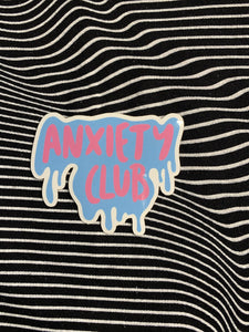 Anxiety Club Sticker