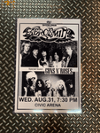 Fresh Prints Posters Aerosmith and Guns n' Roses Vintage Poster